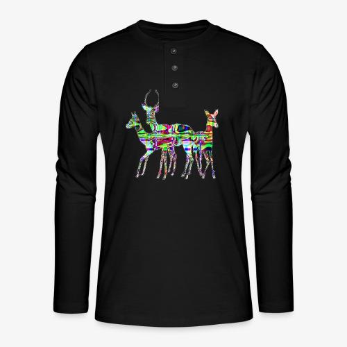 Biches - T-shirt manches longues Henley