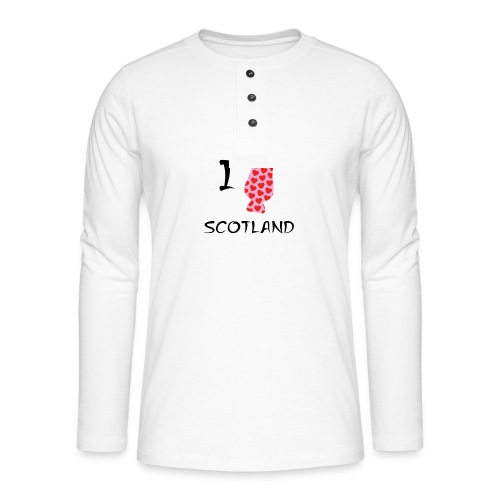 I Love Scotland - Glencairn - Henley long-sleeved shirt