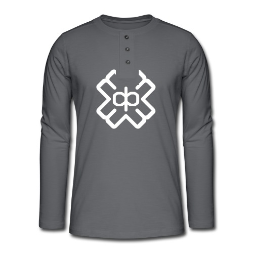 d3eplogowhite - Henley long-sleeved shirt