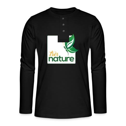 carre_pap_vert_tsh - T-shirt manches longues Henley