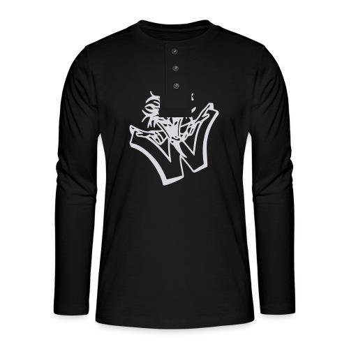 w wahnsinn - Henley shirt met lange mouwen