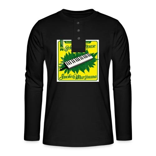 Smoke Marijuana - Henley long-sleeved shirt