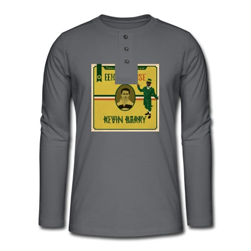 Eek a Mouse Kevin Barry - Henley long-sleeved shirt