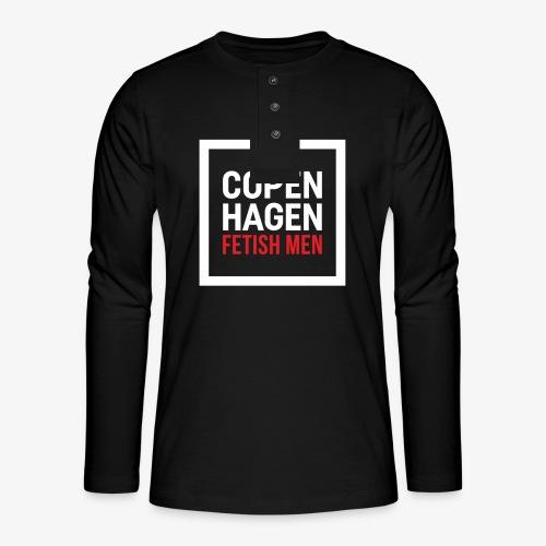 Copenhagen Fetish Men Jacket - Henley T-shirt med lange ærmer