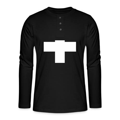 Kreuz - Henley Langarmshirt