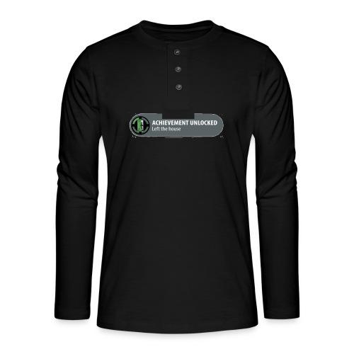 Achievement - Henley shirt met lange mouwen