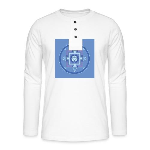 Ajna - Third Eye Chakra - Henley pitkähihainen paita