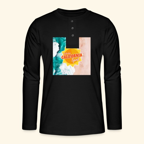 California Spirit Surfin - T-shirt manches longues Henley