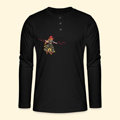 Ladybird - La célèbre uchronaute - T-shirt manches longues Henley