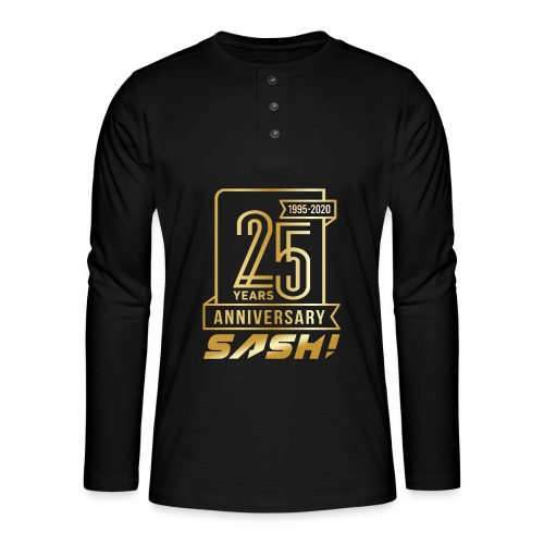 SASH! 25 Years Annyversary - Henley long-sleeved shirt
