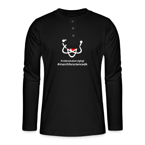 March for Science Danmark - Henley long-sleeved shirt