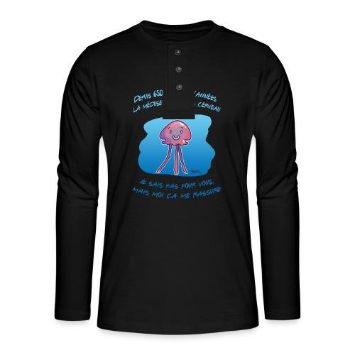 Meduse - T-shirt manches longues Henley