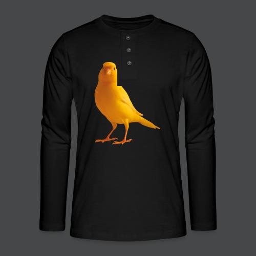 Kanarienvogel - Henley Langarmshirt