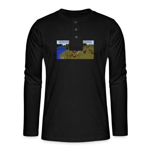 minecraft - Henley long-sleeved shirt