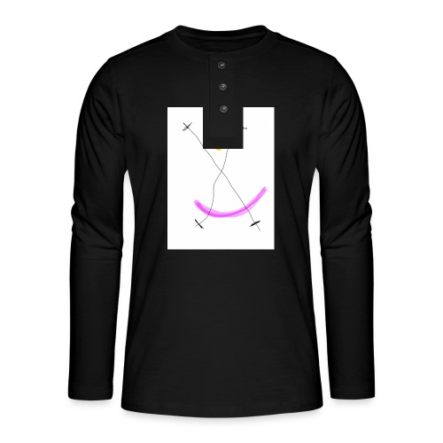 64FB8425 2DD5 4821 BDA2 8F0B9E31CF77 - Henley T-shirt med lange ærmer