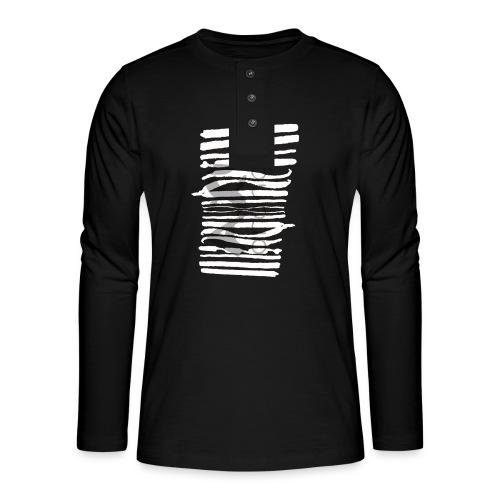 kalligrafie_axl.png - Henley long-sleeved shirt