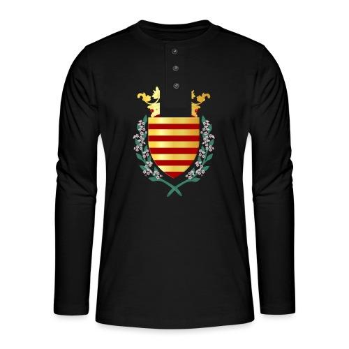 Wapenschild Borgloon - Henley shirt met lange mouwen