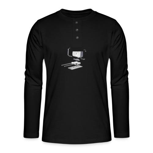 VivoDigitale t-shirt - Blackmagic - Maglia a manica lunga Henley