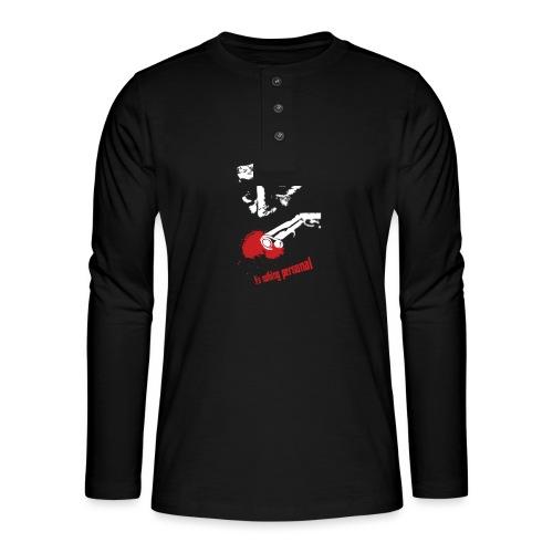 godfather - Koszulka henley z długim rękawem