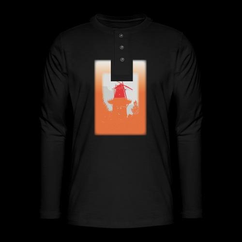 Mills orange - Henley long-sleeved shirt