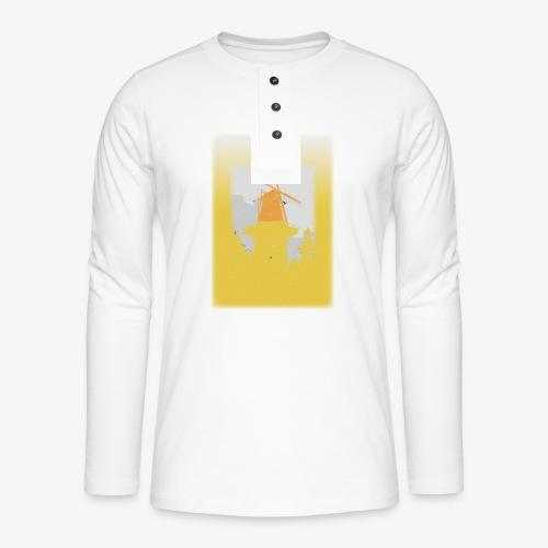 Mills yellow - Maglia a manica lunga Henley