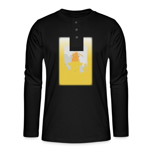 Mills yellow - Henley long-sleeved shirt