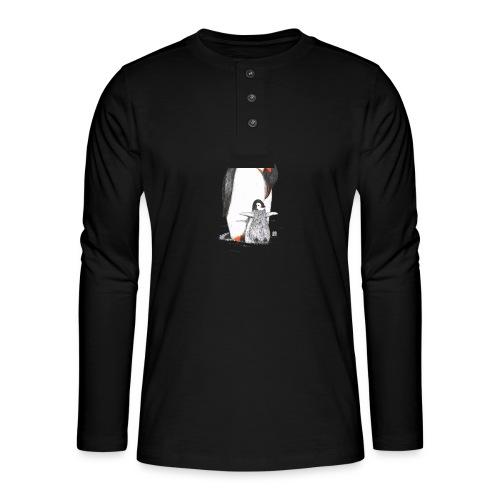 Pinguin - Henley Langarmshirt