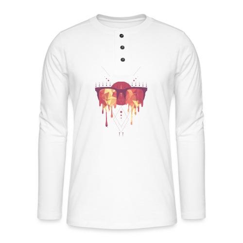summer png - Henley T-shirt med lange ærmer