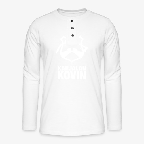 karjalan kovin pysty - Henley pitkähihainen paita