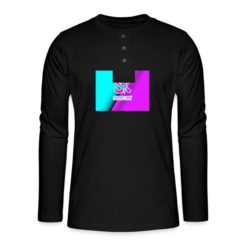 Sk Shirt - Henley shirt met lange mouwen