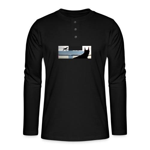 FBtausta - Henley pitkähihainen paita