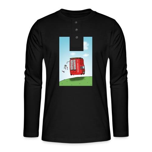 Feuerwehrwagen - Henley Langarmshirt