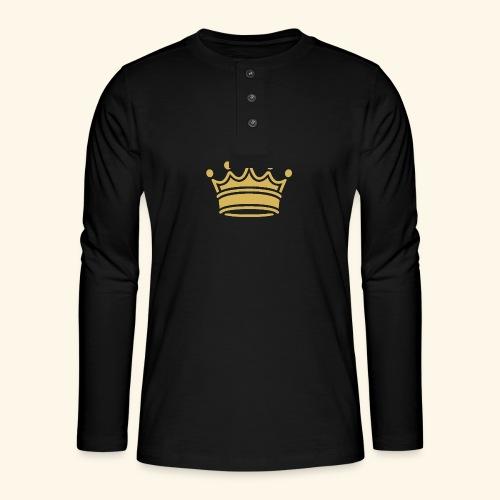 crown - Henley long-sleeved shirt