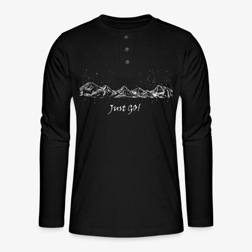 justgo - Henley long-sleeved shirt
