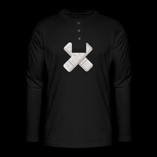 Xanax X Logo - Henley Langarmshirt