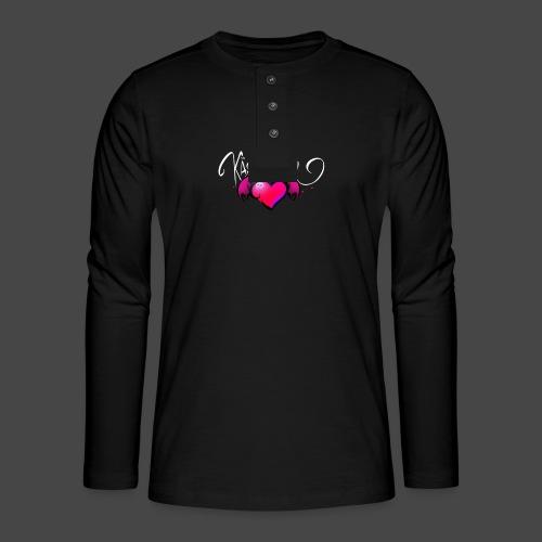 Logo and name - Henley long-sleeved shirt