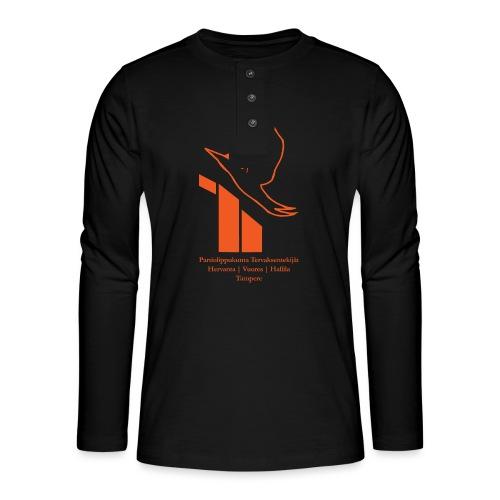 terte paitalogo - Henley pitkähihainen paita