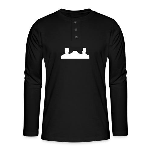 Ontmaskerd Shirt - Henley shirt met lange mouwen