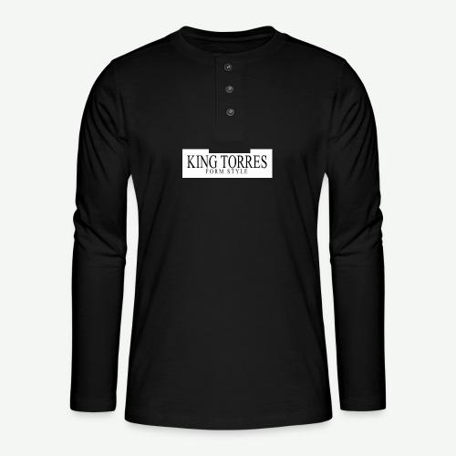 king torres - Camiseta panadera de manga larga Henley