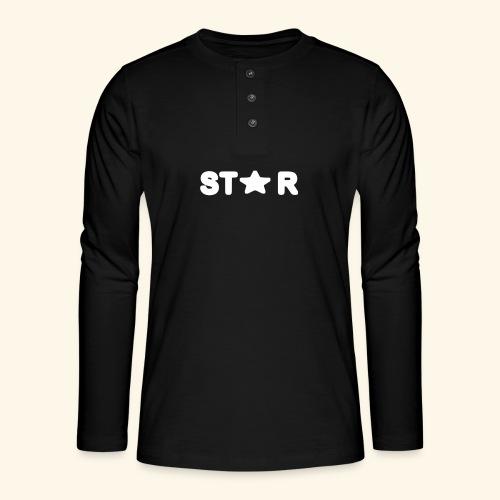 Star of Stars - Henley long-sleeved shirt