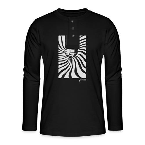 wirbel - Henley Langarmshirt