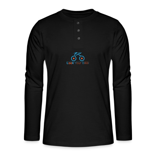 lookyourbike - Henley long-sleeved shirt
