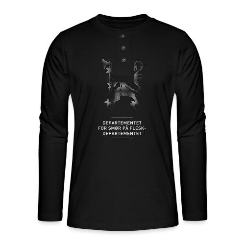 Departementsdepartementet (fra Det norske plagg) - Henley langermet T-skjorte