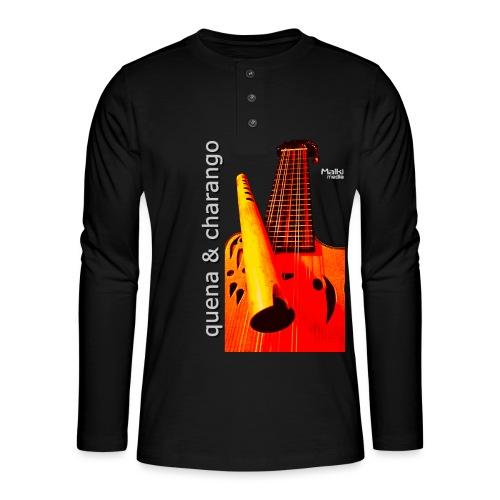 Quena y Charango I bis - Camiseta panadera de manga larga Henley