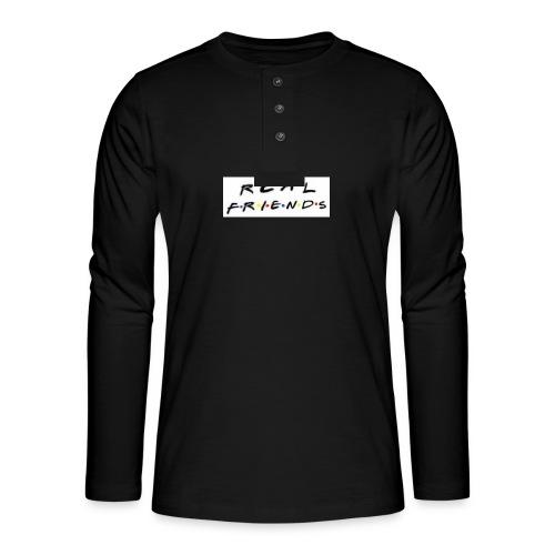 Real freinds - Henley T-shirt med lange ærmer