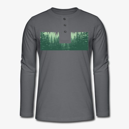 pineforest - Henley long-sleeved shirt