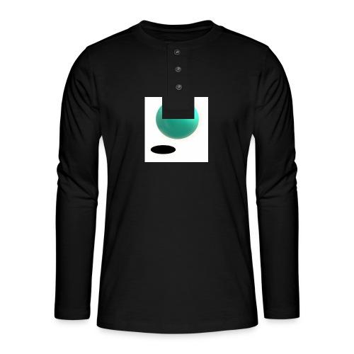 sing - Camiseta panadera de manga larga Henley