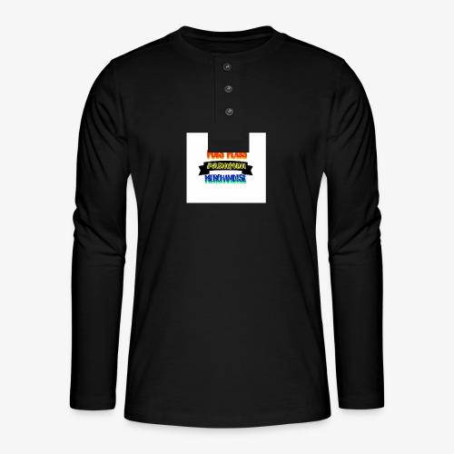 PREMIUMB - Henley long-sleeved shirt