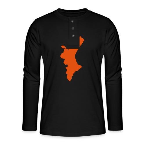 València - Camiseta panadera de manga larga Henley