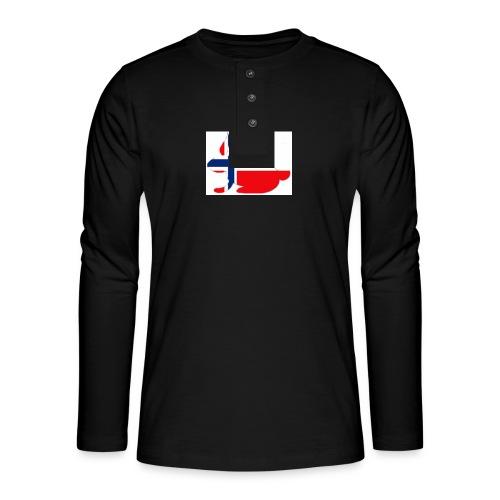 bunny_NY_LOGO_LI - Henley long-sleeved shirt